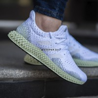 "adidas FutureCraft 4D ""White/Ash Green"""