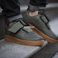 "Nike Air Force 1 Utility Qs ""Sequoia/Gum"""