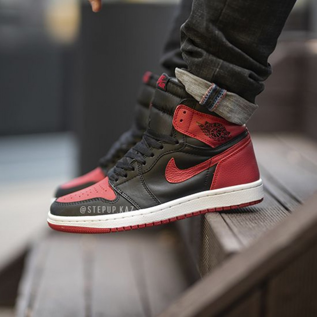 "Jordan 1 Retro High OG ""Bred"""