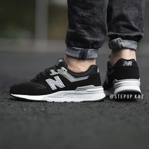 meticulous dyeing processes better price for best wholesaler New Balance 997H Black Silver