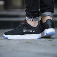 "Nike Air Force 1 Flyknit Low ""Black"""