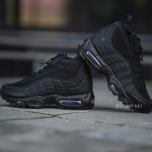 "Air Max 95 Sneakerboot ""Triple Black"""