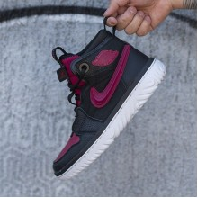 "Jordan 1 High React ""Black Noble Red"""