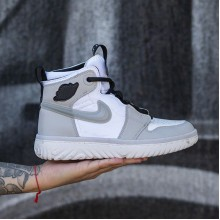"Jordan 1 High React ""Grey Fog"""
