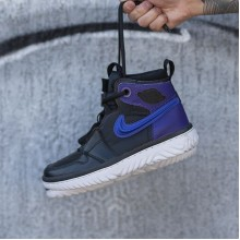 "Jordan 1 High React ""Black Court Purple"""