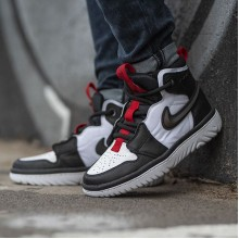 "Jordan 1 High React ""Black White Gym Red"""
