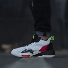 "Jordan Zoom 92 ""Sail Flash Crimson""  Electric Green"