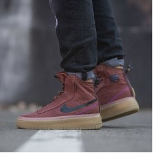 "Nike Air Force 1 Shell ""Burgundy Ash"""