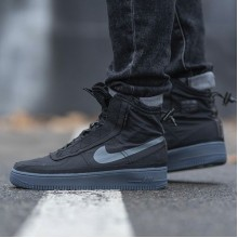 "Nike Air Force 1 Shell ""Black"""