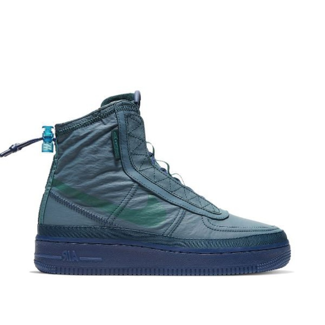 """Nike Air Force 1 Shell """"Midnight Turquoise"""""""