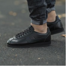 "Nike Classic Cortez Leather ""Black"""