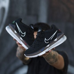 "Nike LeBron 17 Low ""Black White"""