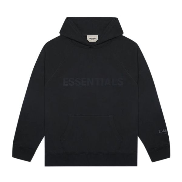"""FEAR OF GOD ESSENTIALS 3D Silicon Applique Pullover Hoodie """"Dark Slate"""""""