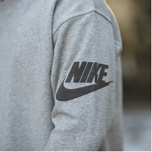 "FEAR OF GOD x Nike NRG Ti Crewneck ""Dark Grey Heather"""