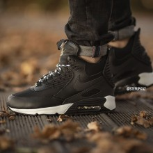 "Air Max 90 Sneakerboot WNTR ""Black/White"""