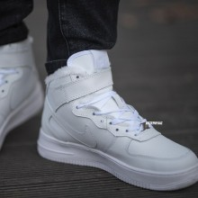 "Air Force 1 Winter ""White"" Leather"